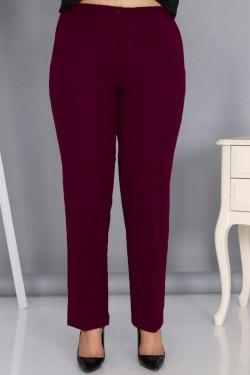 Klasikinės kelnės su užtrauktuku