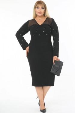 Elegantiška suknelė su karoliukais